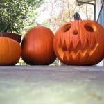 Carving pumpkins with power tools