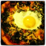 Fried Egg Pizza