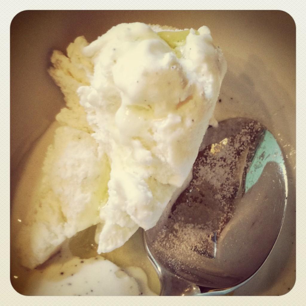 ice cream olive oil