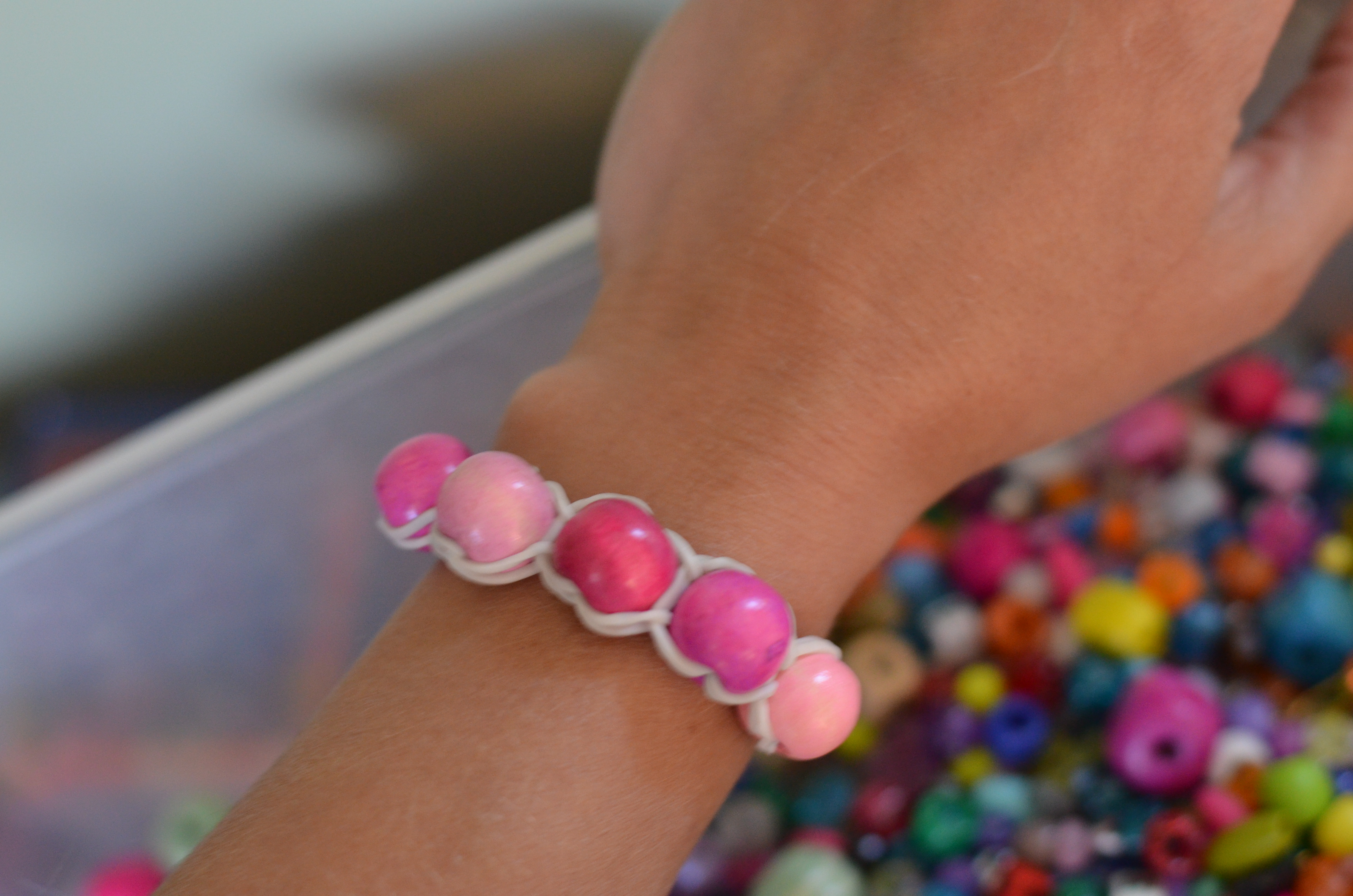 rubber band bracelets the saga continues with beads
