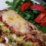 Eggplant Pumpkin Lasagna