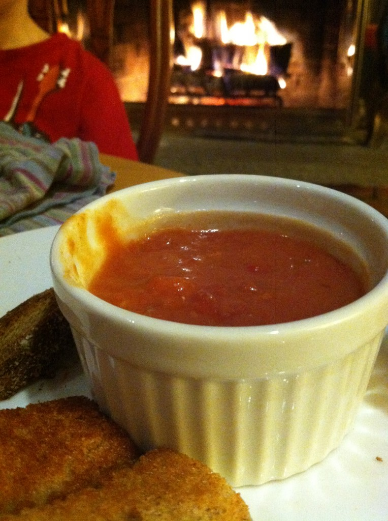 Tomato Soup and Grilled Cheese | Two Clever MomsTwo Clever Moms