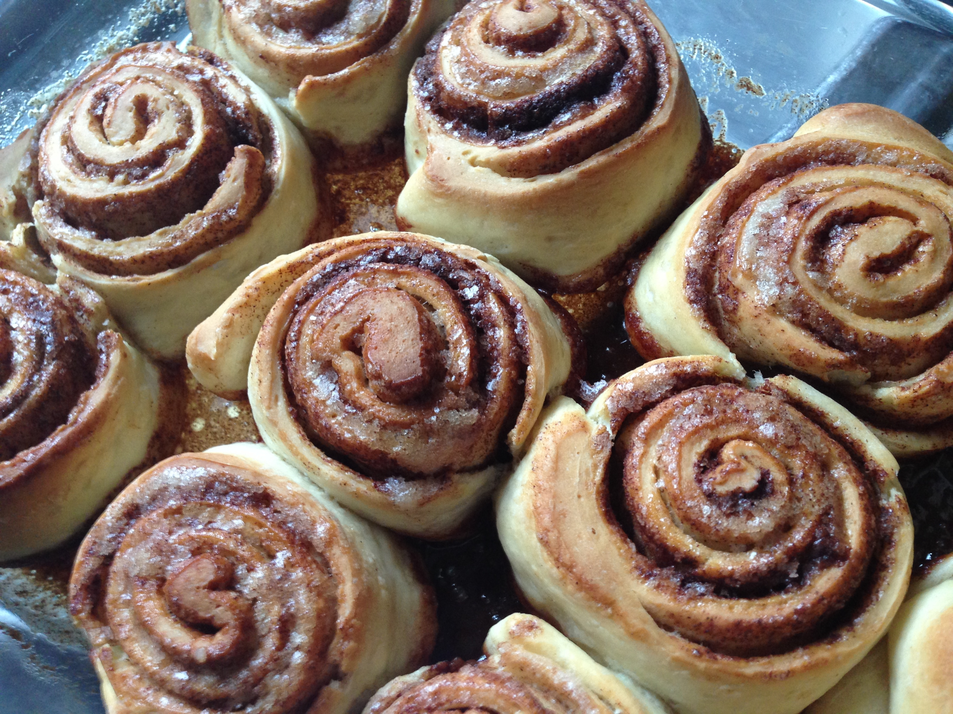 ... well, there's usually one comfort food that I turn to: cinnamon