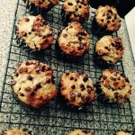Chocolate Chip Muffins with Protein Powder